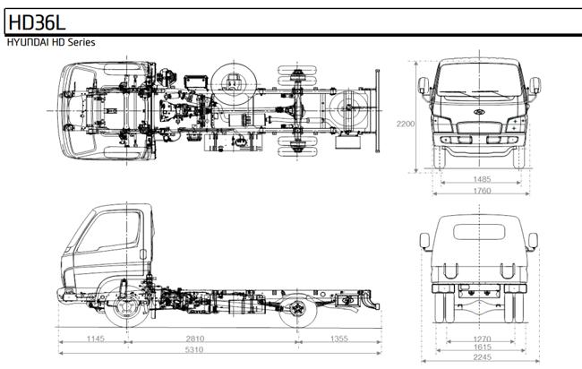 Xe tải 2 chân và những sản phẩm bán chạy trên thị trường
